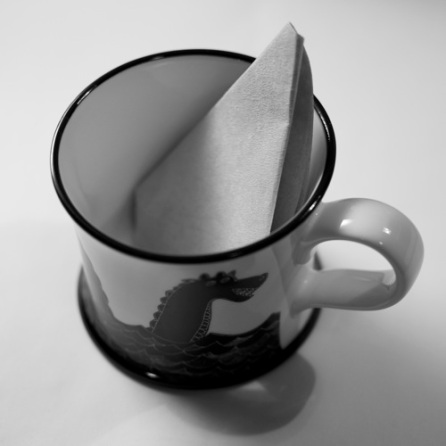 coffee filter for brewing tea